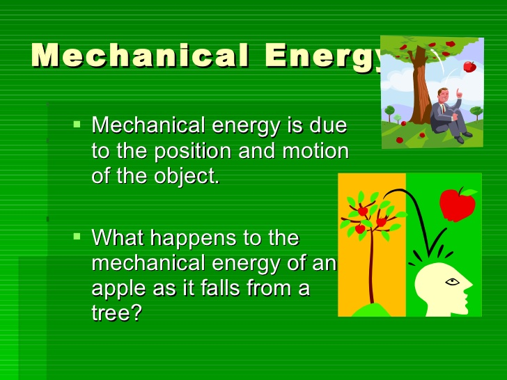 importance of the mechanical energy - eschool